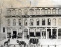 The Stimpson Block, Thomaston, ca. 1878