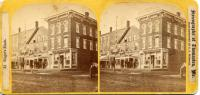 The Singer Block, Thomaston, ca. 1871