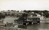 Lower Toll Bridge, Thomaston, ca. 1950