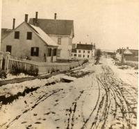 Dunn Street, Thomaston, looking south, ca. 1870