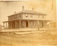 Railroad Depot, Thomaston, 1871
