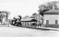 Railroad Depot, Thomaston. ca. 1900