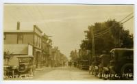Water Street, Lubec, ca. 1925