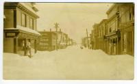 Water Street, Lubec, 1933