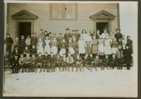 Grammar school, North Lubec, ca. 1911
