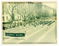 Lubec High School Band, Washington, D.C., 1965