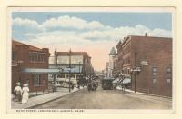 Water Street, Looking East, Augusta, ca. 1910