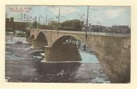 New Railroad Bridge, Waterville, 1911