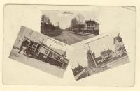 Three views of Washburn, ca. 1910