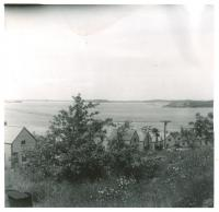Sardine worker housing, Lubec, 1951