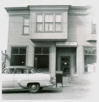 Post Office, Lubec, ca.1958