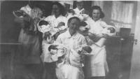 Trull Hospital Nursery, Biddeford, ca. 1939