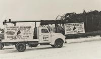 National Community Christmas Tree, Presque Isle, 1959