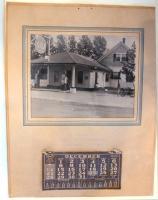 Gas Station Calendar, Islesboro, 1947