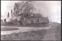 The Islesboro Inn Burning, 1915