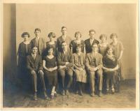 Argonaut yearbook staff, Isleboro, 1925