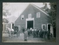 Gilkey Livery Stable, Islesboro, ca. 1900
