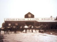 Pendletons' Livery Stable, Islesboro, ca. 1904