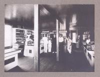 F.S. Pendleton Store, interior, Dark Harbor, ca. 1900