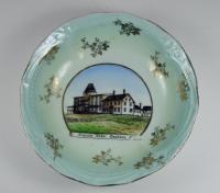Seaside Hotel Commemorative Plate, ca. 1900