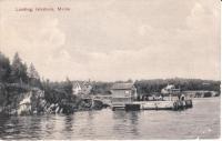 Hewes Point Landing, Islesboro, ca. 1910