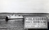 Governor Brann Ferry, Islesboro, ca. 1940