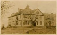 High school, Lubec, ca. 1910