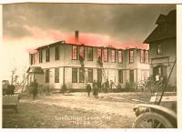 School fire, Lubec, 1913