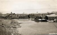 Georges River toward former tollbridge, Thomaston, 1946