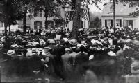Waymouth Memorial Dedication at Mall, Thomaston, 1905