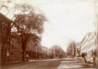 Trolley, Main Street, Thomaston, ca. 1900