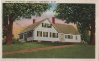 Madame Lillian Nordica's birthplace, 1936
