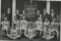 Abbott School Track Team, Farmington, 1918