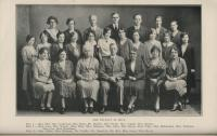 State Normal and Training School Faculty, Farmington, 1929-1930