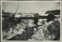 Walton Mill on Walton Pond, Farmington, ca. 1917
