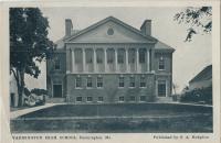 Farmington High School 1906