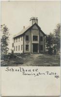 Farmington Falls Schoolhouse, ca. 1880