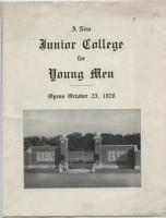 Abbot Junior College Flyer, 1928