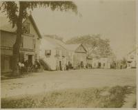 Upper Corner businesses, Hampden, ca. 1904