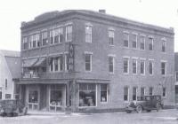 Aroostook Valley Railroad and Maine Public Service Company building, Presque Isle, 1921