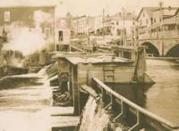 Dam across Prestile Stream, Presque Isle, 1910