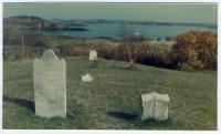 Hopley Yeaton grave, North Lubec, ca. 1960