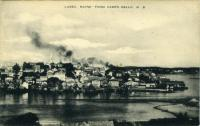 View of Lubec from Campobello, ca. 1950