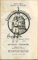 Maine Winter Carnival program, Augusta, 1923