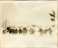 Ski race, Augusta, 1923