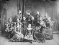 Class Picture, Saco, 1898