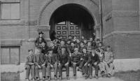 Thornton Academy Students, Saco, 1892