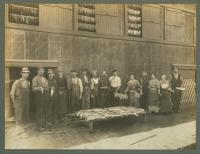 Columbian Canning Company and Employees, Lubec, ca. 1912