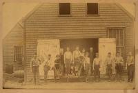 Old Gun Rock Can Shop, Lubec, ca. 1900