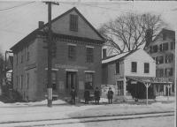Corner of Main and Pleasant Streets, Saco, ca. 1900